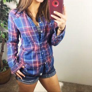 AEO // boyfriend fit flannel